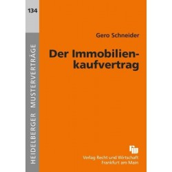 Der Immobilienkaufvertrag...
